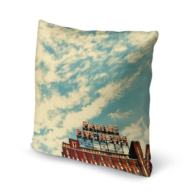 Farine Accent Pillow Size: 24 H x 24 W x 5 D