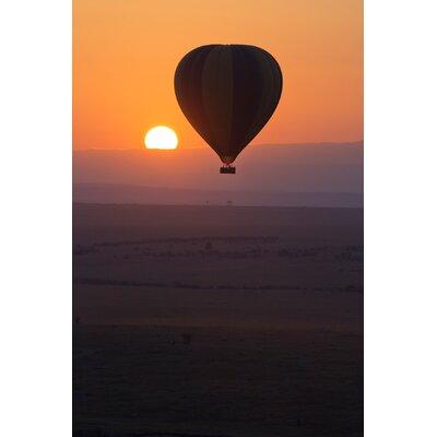 Hot Air Sunset Photographic Print POS-PSTR1824-18X24-HRA5134