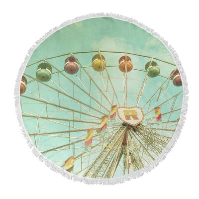 Tomberlin Round Beach Towel