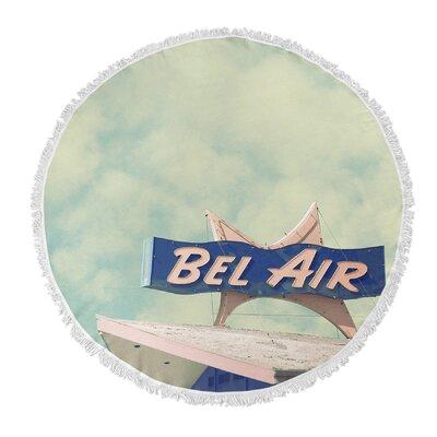 Tookes Bel Air Round Beach Towel