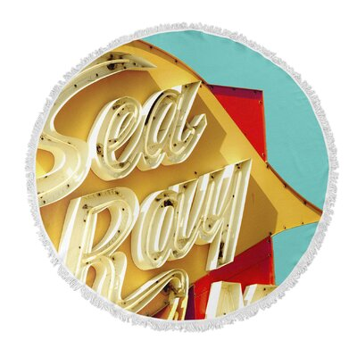 Sea Ray Round Beach Towel