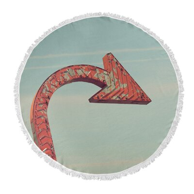 Tolman Round Beach Towel