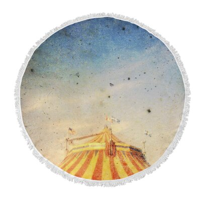 The Big Top Round Beach Towel