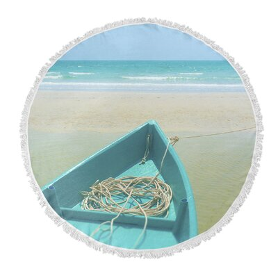 To Sea Round Beach Towel