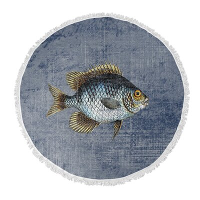 Ellenburg Round Beach Towel