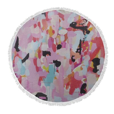 Charm Dripper Round Beach Towel