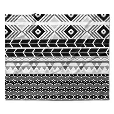 Tribal Fleece Blanket Size: 90 W x 90 L