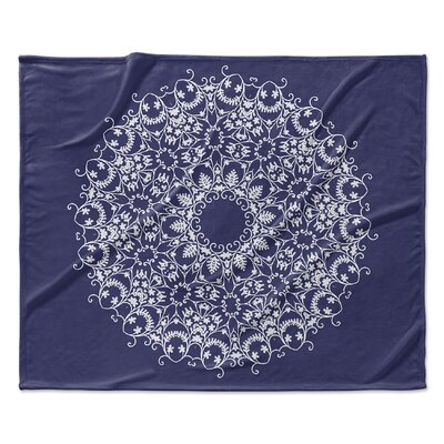 Heena Fleece Blanket Size: 50 W x 60 L