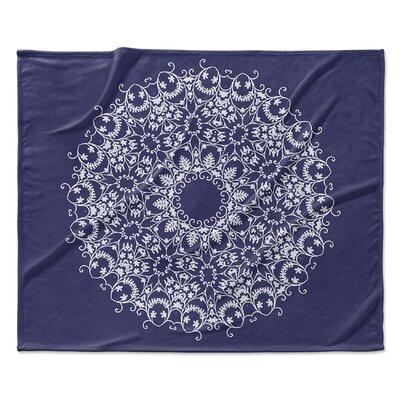 Heena Fleece Blanket Size: 90 W x 90 L