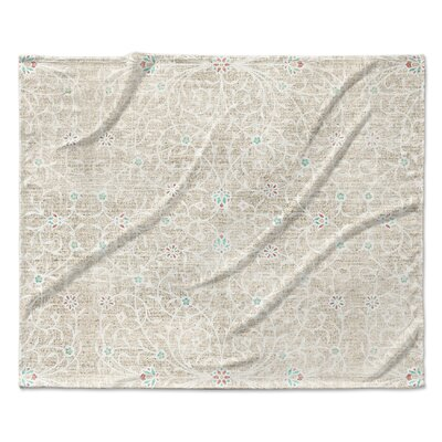 Malaga Fleece Blanket Size: 50 W x 60 L