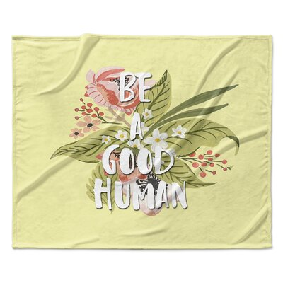 Good Human Fleece Blanket Size: 60 W x 80 L