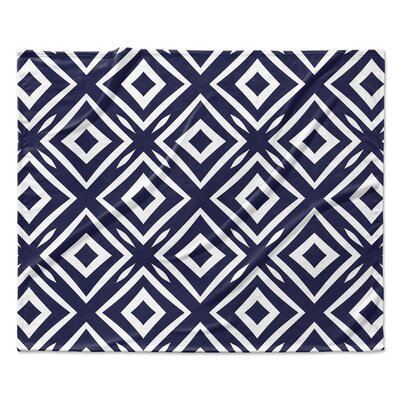 Square Peg Fleece Blanket Size: 60 W x 80 L