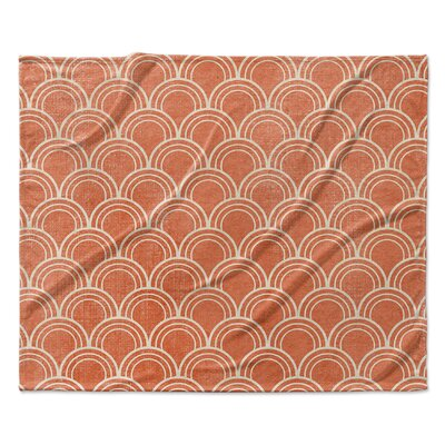 Modena Fleece Blanket Size: 50 W x 60 L