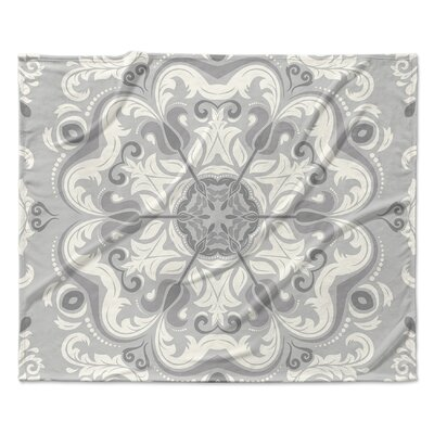 Naples Fleece Blanket Size: 90 W x 90 L
