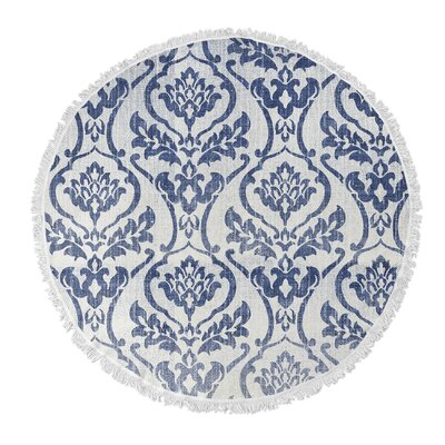 Seabury Round Beach Towel