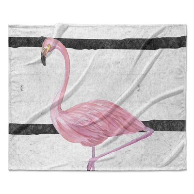 Crawfordsland Fleece Blanket Size: 50 W x 60 L