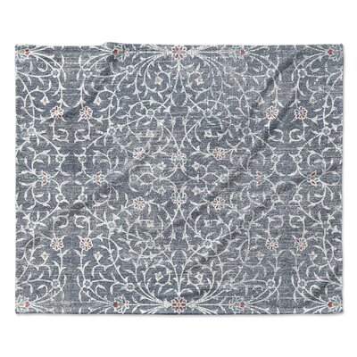 Palma Fleece Blanket Size: 50 W x 60 L