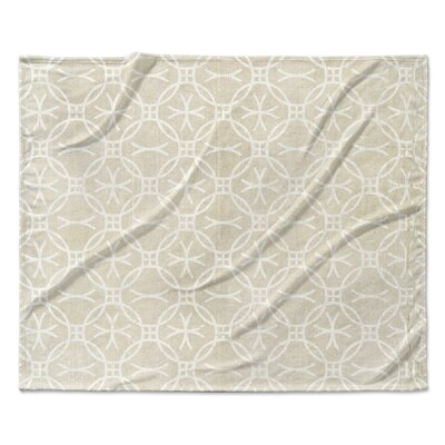 A Vellno Fleece Blanket Size: 50 W x 60 L
