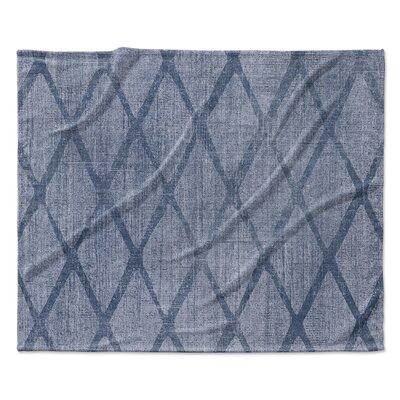 Potenza Fleece Blanket Size: 60 W x 80 L