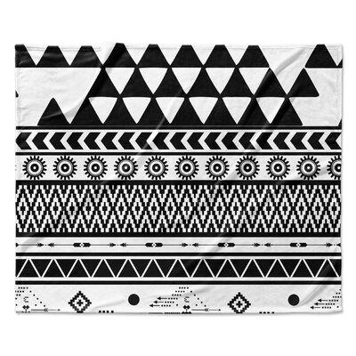 Moroccan Fleece Blanket Size: 50 W x 60 L