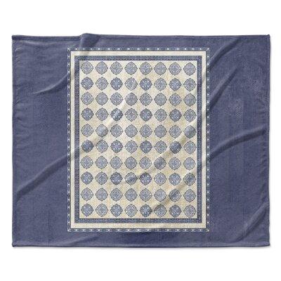 Palencia Fleece Blanket Size: 90 W x 90 L