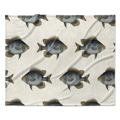 Ellenburg Fleece Blanket Size: 60 W x 80 L