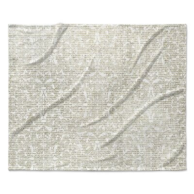 Florence Fleece Blanket Size: 90 W x 90 L