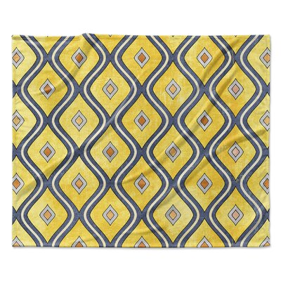 Verona Fleece Blanket Size: 50 W x 60 L