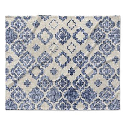 Cagliari Fleece Blanket Size: 60 W x 80 L