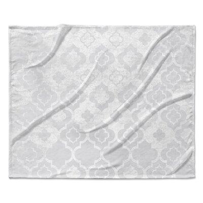 Ancona Fleece Blanket Size: 50 W x 60 L