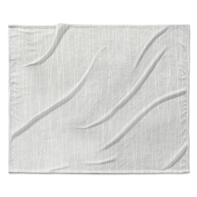 Trento Fleece Blanket Size: 50 W x 60 L