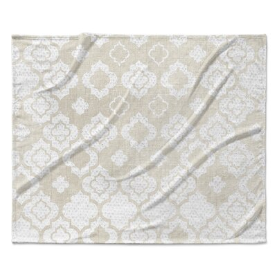 Vicenza Fleece Blanket Size: 50 W x 60 L