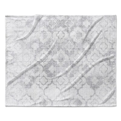 Perugia Fleece Blanket Size: 50 W x 60 L