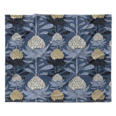 Elicia Blossom Fleece Blanket Size: 50 W x 60 L