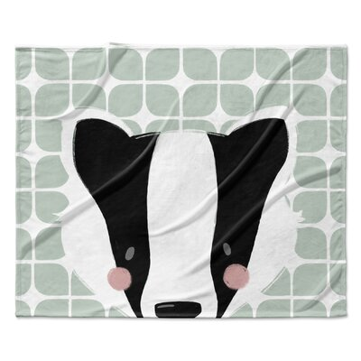 Badger Fleece Blanket