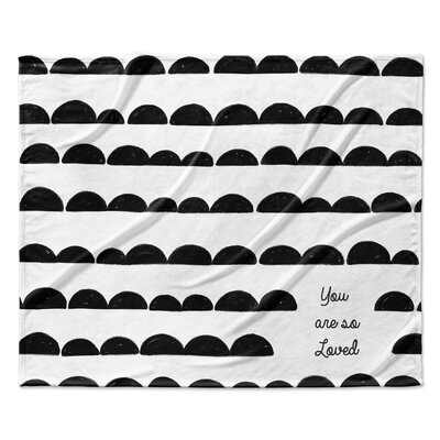 You Are So Loved Velveteen Blanket