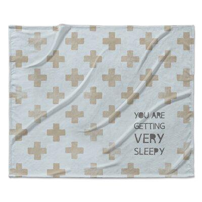 Getting Sleepy Velveteen Blanket