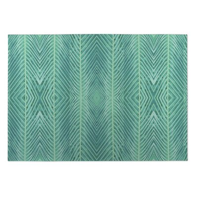 Aleah Palms Doormat Color: Green