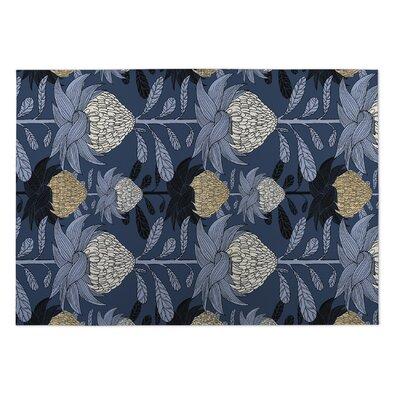 Elicia Blossom Doormat Mat Size: Square 8