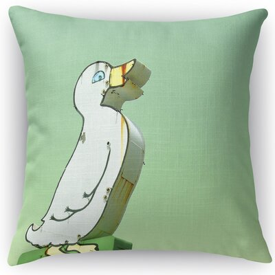 Quack Throw Pillow Size: 24