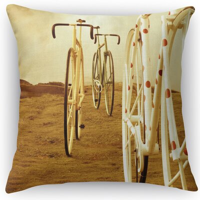 Ride On Throw Pillow Size: 18