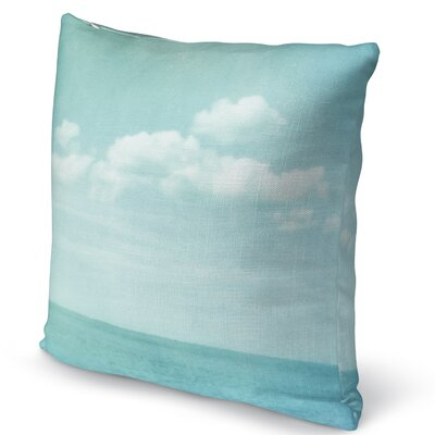 Sea Accent Pillow Size: 16