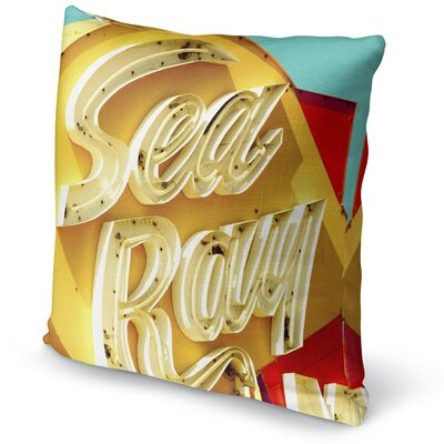 Sea Ray Accent Pillow Size: 18 H x 18 W x 5 D