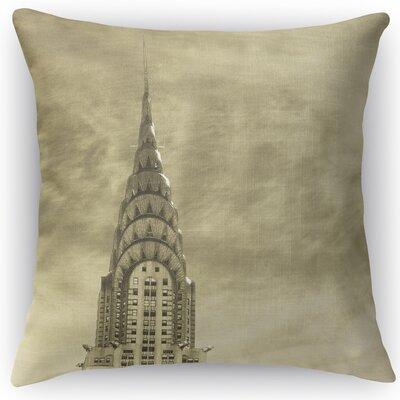 Skyline Throw Pillow Size: 24 H x 24 W x 5 D