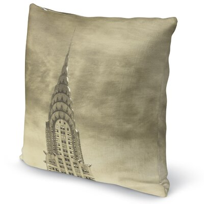 Skyline Accent Pillow Size: 16 H x 16 W x 5 D