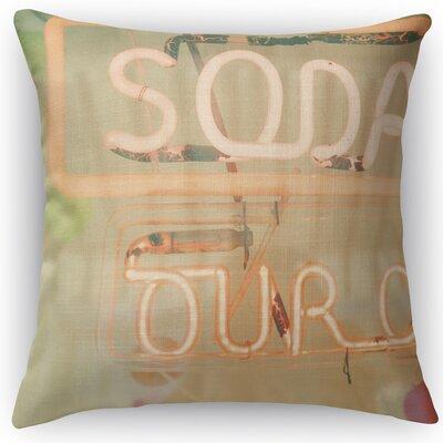 Soda Throw Pillow Size: 24 H x 24 W x 5 D