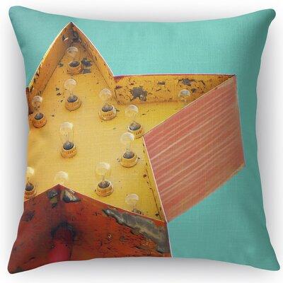 Star Sign Throw Pillow Size: 24 H x 24 W x 5 D