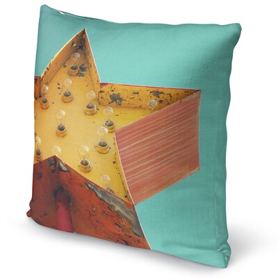 Star Sign Accent Pillow Size: 16 H x 16 W x 5 D