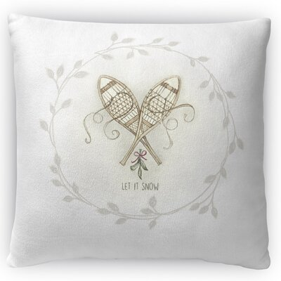 Shoe Shoes Throw Pillow Size: 18