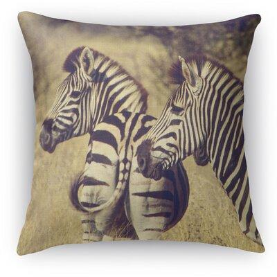 Stripes Throw Pillow Size: 24 H x 24 W x 5 D